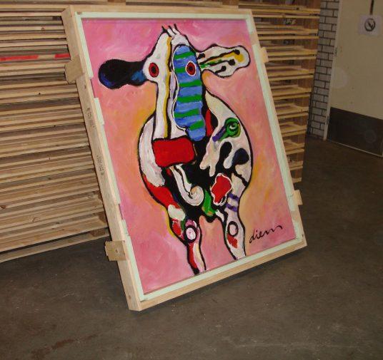 Schilderij kist Diem